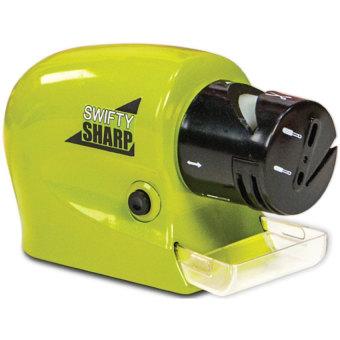 padasuka134 sharp swifty electric sharpener / pengasah pisauelektrik – hijau