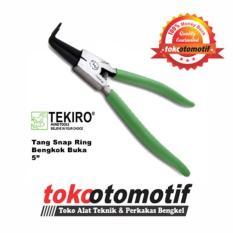 Tang Snap Ring Bengkok Buka 5 inch Tang Spi TEKIRO .