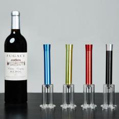 Tekanan udara jenis anggur pembuka botol Stainless Steel jenis tanda pembuka gabus keluar .