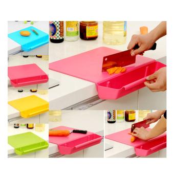 Telenan Instan Memotong / Papan memotong sayur buah dagingmultifungsi / cutting board CB-01 -