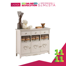The Olive House Lemari Kabinet Serbaguna Rosemarry 9 drawer