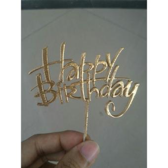 Topper cake / Custom tulisan hiasan kue ulang tahun / hiasan kue / kue / custom hiasan kue