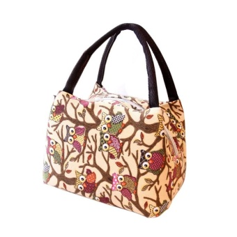 Tote Picnic Lunch Cool Bag Cooler Box Handbag Pouch - intl