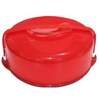 Detail Gambar Produk Tupperware Cake Taker - Merah Terbaru