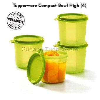 Tupperware Compact Bowl High (4pcs)