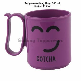 Tupperware Mug Ungu - Gotcha. >>>>