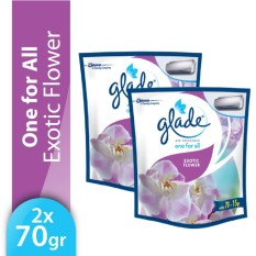 [Twin Pack] Glade One-for-All Refill Flowers 70gr x 2pcs