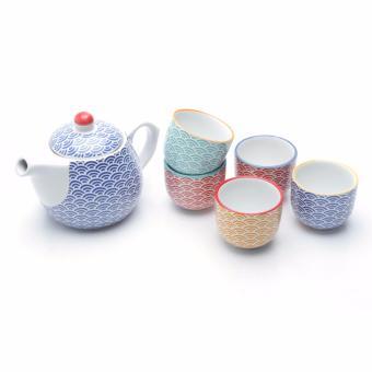 Uchii Teko & Cangkir Keramik set gelas teh dan kopi