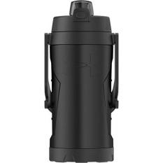 under armour 64 ounce foam insulated hydration bottle. under armour 68 ounce vacuum insulated stainless steel hydration bottle, matte black - intl 64 foam bottle