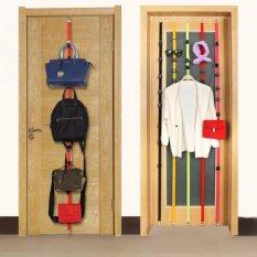UP DN Hook Hanger - Gantungan Baju Tas Dan Topi Rack Organizer Gantungan Baju Dipintu - Hitam