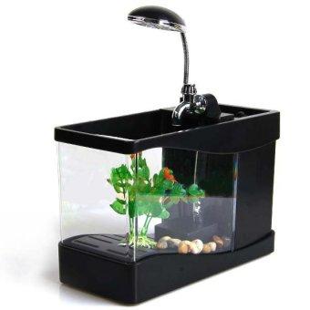 USB Mini Aquarium Wonderful Life - Lileng-918 - Black