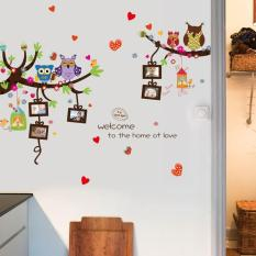 Wallsticker Owl Photo Frame