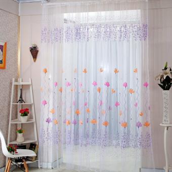 Jual Gorden Blackout Minimalis terbaru ungu tirai jendela pintu Source · x 200 cm prem Blossom Wintersweet tule tirai balkon kamar pembagi berwarna Source ...