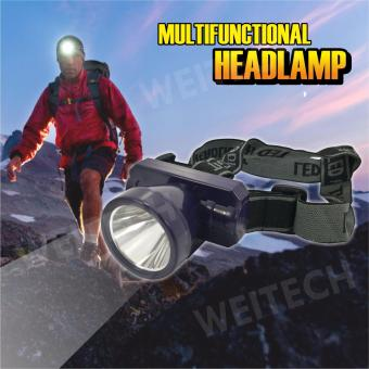 WEI TECH Headlamp Senter Kepala Led mini 6645