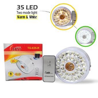 Wellness - XRB Lampu Emergency Fitting TG-635-R - 35 LED - LightWarm