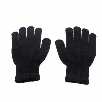 Whyus wanita/pria hangat tulang jari sarung tangan layar sentuhuntuk ponsel pintar Tablet - International - 2