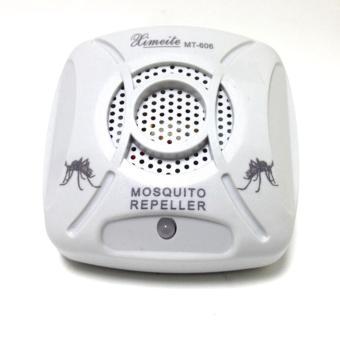 6 watt pembunuh kecoa tikus elektronik ultrasonik Repelle perangkap nyamuk ( biru + putih) -