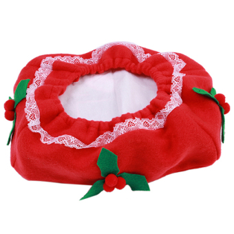 Yingwei Christmas Clothes Tissue Box Cover B (Red) - 2