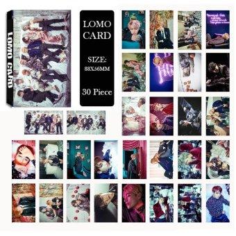 Youpop KPOP BTS Bangtan Boys WINGS Photo Album LOMO Cards New Fashion Self Made Paper Card