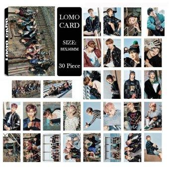 Youpop KPOP BTS Bangtan Laki-lakis SAYAP Anda pernah berjalan sendirian foto Album LOMO kartu