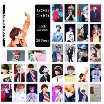 Youpop KPOP GOT7 Kim YuGyeom Album LOMO Cards K-POP New Fashion Self Made Paper