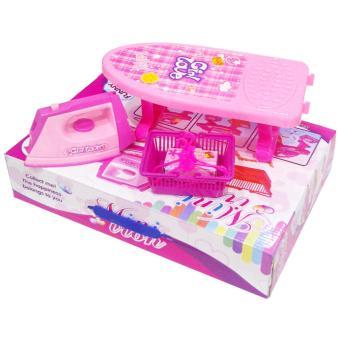 0960200022 | Mainan Anak Mini Iron Meja Setrikaan Pink - 2