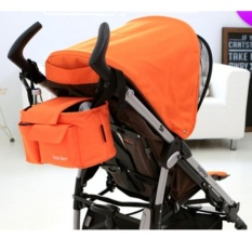 1 Piece Colorful Universal Multifunction Mother Stroller Milk Organizer Stroller diapers Baby Cup Holders Accessories Bag holder Cart Car Seat Backpack - intl