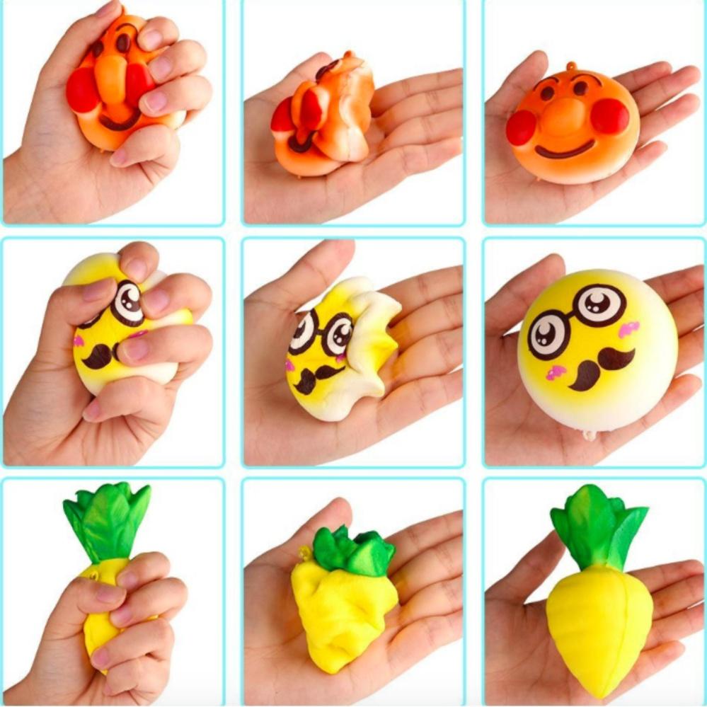 ANGEL LED Fidget Spinner Hand Toys Mainan Tri-Spinner EDC Ceramic Ball Focus Games Penghilang