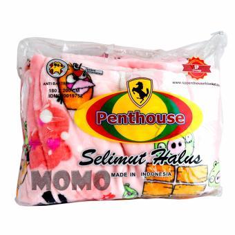 AA Toys Selimut Halus Penthouse Karakter 180cm x 200cm - Bed Cover Halus