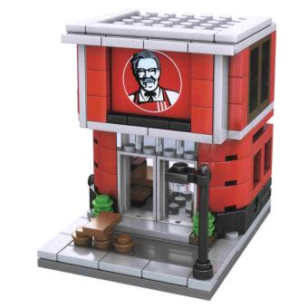 AA Toys Sembo Block Fried Chicken Shop SD6010 - Mainan Bangunan KFC Shop