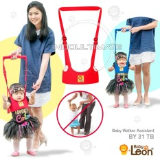 Alat Bantu Jalan Bayi / Balita BABY LEON / Pengaman / Perlengkapan / Baby Walking Assistant BY 31 TB - Red