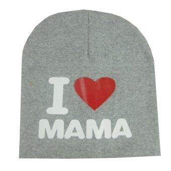 Amart Unisex Baby Toddler Cotton Soft Cute Hat Cap Winter Star HatsGrey - intl