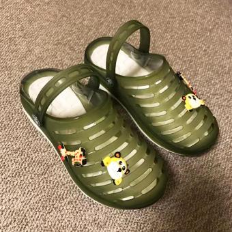 Anak laki-laki anak Perempuan sarang jelly sandal anak anak sandal sepatu lubang