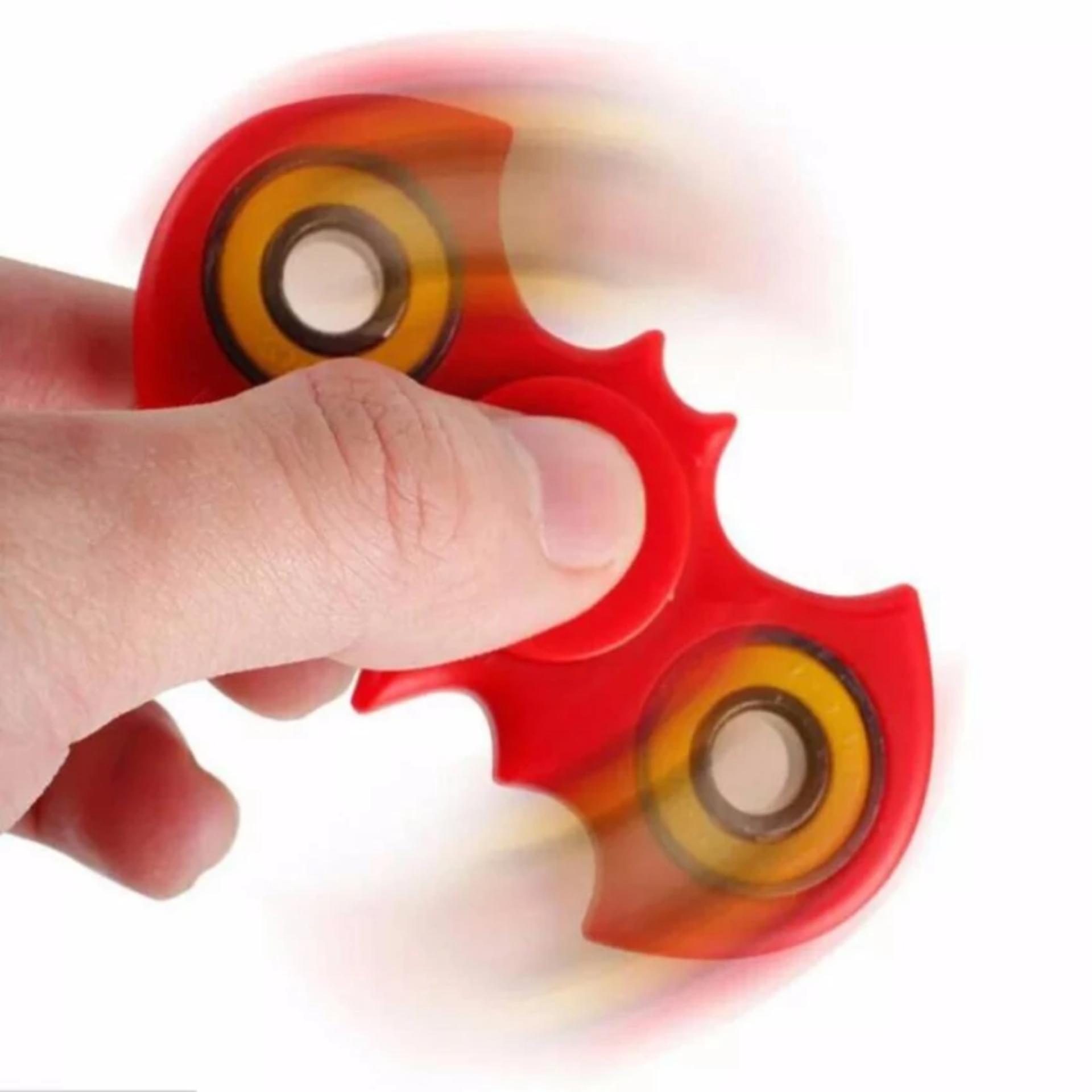 ANGEL - Fidget Spinner Bat-mans Hand Toys Mainan EDC Ceramic Ball Focus Games Bartman ...