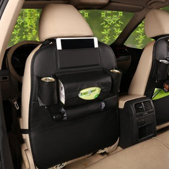 Auto Car Seat Storage Bag Hanger Multi-Pocket Organizer Car SeatBack Bags Car Accessories - intl