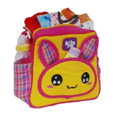 Baby Joy Tas Bayi Kecil Saku Bunny Series - Kuning