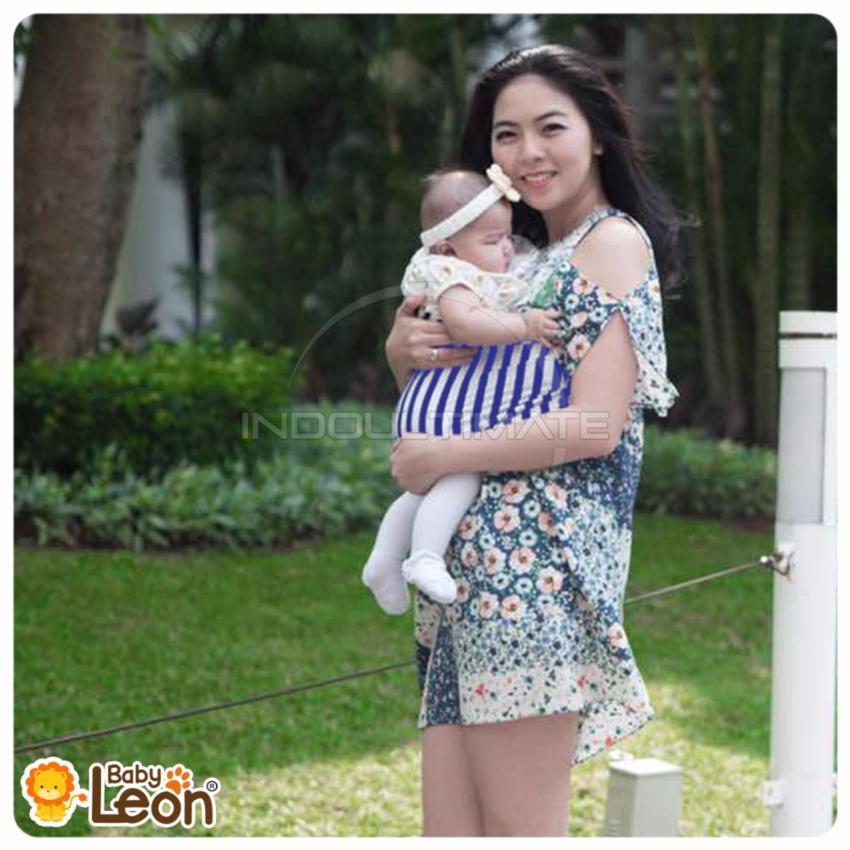 BABY LEON GENDONGAN Bayi Kaos/Geos/selendang Bayi Praktis BY 44 GB SALUR .