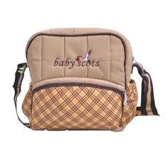 Baby Scots Berry Bag Brown - Tas Perlengkapan Bayi  ISBB01