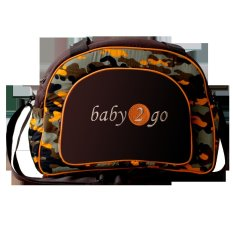 Baby Scots Diapers Bag 2Go Army 11 - Orange