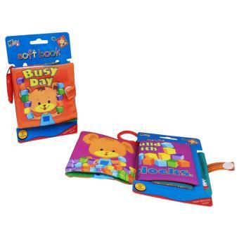 Baby Talk Softbook Baby Bussy Day - Buku Cerita Anak Buku EdukasiAnak Mainan Bayi Mainan Murah Buku Murah - Mainan Eduka Buku PintarBuku Bayi Buku Newborn Mainan Newborn Mainan Bayi