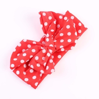 Baby's 2016 the New Bow Hair with a Bow Tie Headband - Red - intl