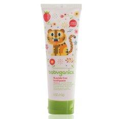BabyGanics Toothpaste Strawberry - 113gr