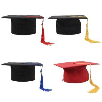 Balik Toga Topi Dewasa Diajari Penggali Parit Tuan DokterGuraduation Hitam + Biru - Internasional Bolehdeals - 4