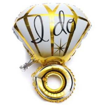 Balon foil Cincin I Do