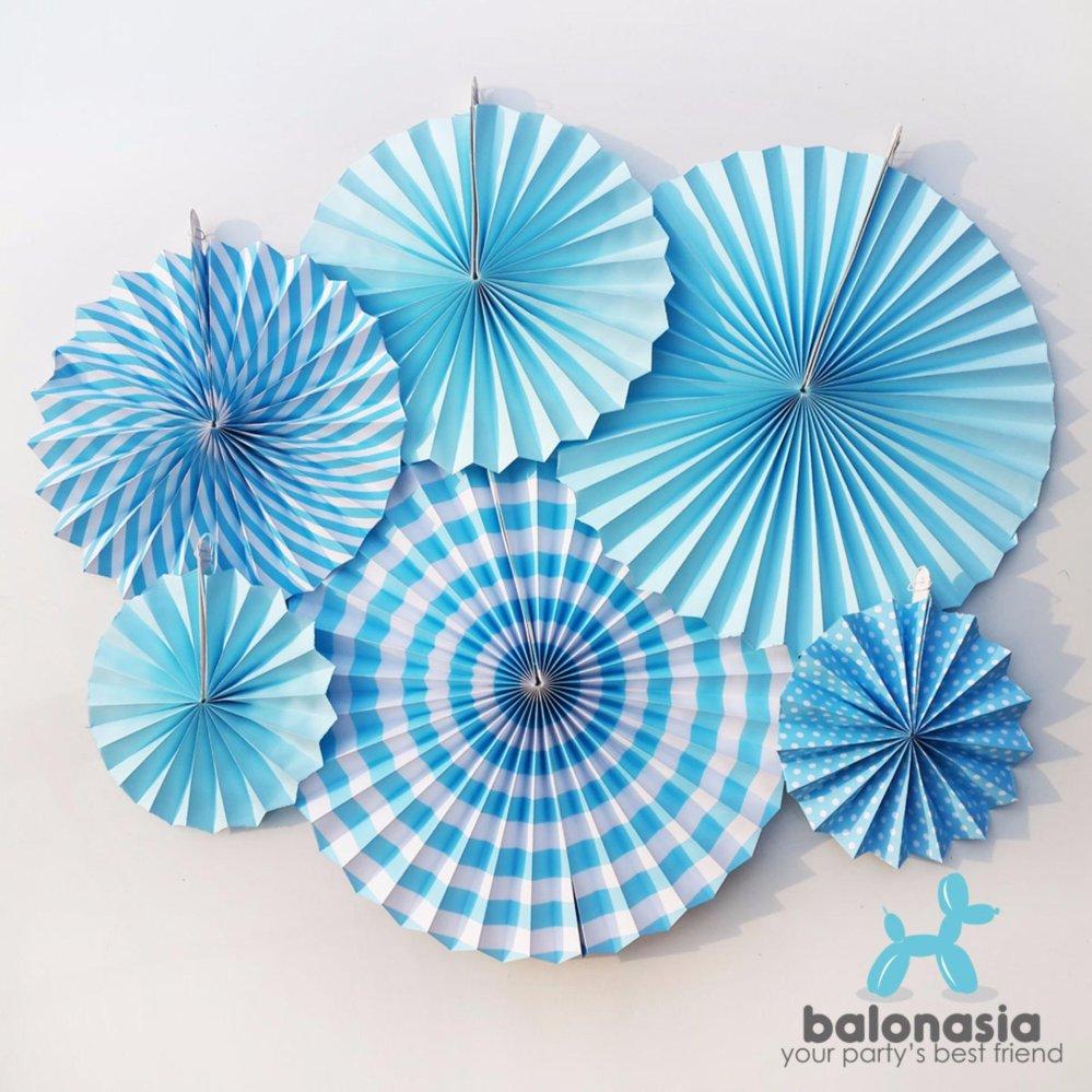 Daftar Harga Balonasia 6 Pcs Lot Bunga Kertas Fan Tissue Kerajinan Kipas Dekorasipernikahan Pesta Ulang Tahun Home