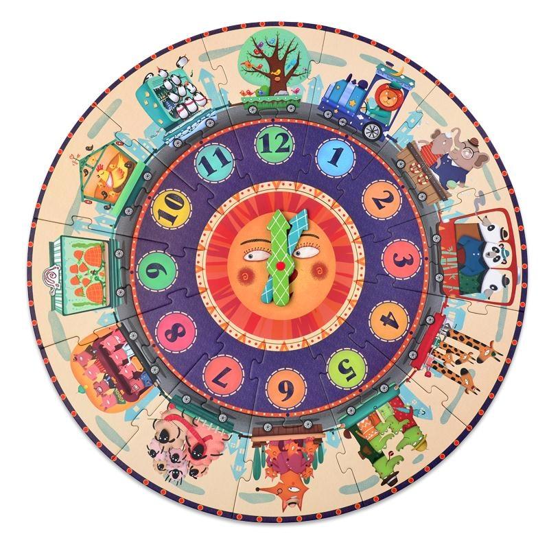 ... Pendidikan Usia Dini Mainan Bayi Gelendong. Source · Baobao jam kayu anak usia dini anak laki-laki puzzle teka-teki anak-