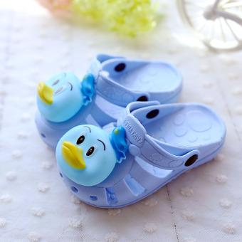 ... Baobao kartun lembut bawah anak anak kecil di sandal mandi sandal dan sandal