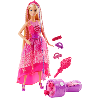 Barbie(R) Endless Hair Kingdom(TM) Snap 'n Style Princess
