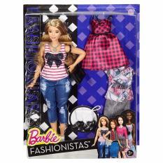 Barbie® Fashionistas® 37 Everyday Chic Doll & Fashions - Curvy
