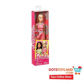 Barbie Friends Series Pink Dress Doll (30cm)